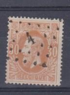 Belgique N°33 LP 4 ALVERINGHEM TRES RARE ET SUPERBE - 1869-1883 Leopoldo II
