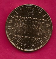 AUSTRIA, 1980, 1 Off Normally Used Coin Of  20 Shilling , Copper,alu Nickel,   KM2946.1, C9256 - Oostenrijk