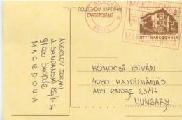 Postal History Cover: Macedonia Card - Macédoine