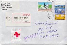 Postal History Cover: Slovenia Cover - Slovenia