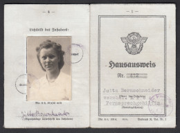 """Petit Lot """" Ausweis """" Papiers D'identités - 1941/1944 ( Comprenant 4 Cartes ) - 1939-45"""