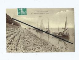 CPA  - St Valery Sur Somme - La Digue à Marée Haute - Saint Valery Sur Somme