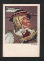 071520 Poland RURAL Type W/ Book By STRYJENSKA Old PC - Illustratori & Fotografie