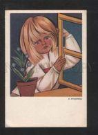 071524 RURAL Type Young Boy By STRYJENSKA Old Poland PC - Illustratori & Fotografie