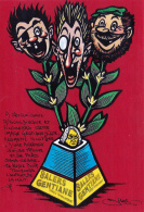 CPM Les Pieds Nickelés Gentiane SALERS Caricature Tirage Limité Illustrateur JIHEL / LARDIE - Lardie