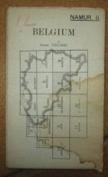 Carte D'Etat Major GB WW1 - 1914-18