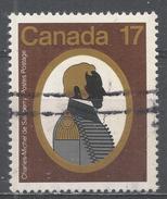 Canada 1979. Scott #819 (U) Charles-Michel D'Irumberry De Salaberry (1778-1829), Colonel * - 1952-.... Règne D'Elizabeth II