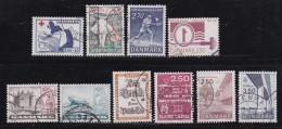 DENMARK, 1983, Used Stamp(s), Commoratives, MI767=784, #10161, 10 Values - Denmark