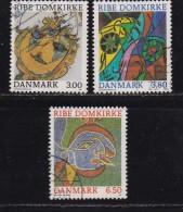 DENMARK, 1987, Used Stamp(s), Ripen Dom, MI 891-893, #10180, Complete - Denmark
