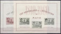 Argentina 1960 HB-12/13 Nuevo - Hojas Bloque