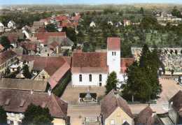 CPSM - MUTTERSHOLTZ (67) - Vue Aérienne Sur Le Quartier De L'Eglise Protestante En 1963 - France