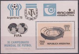 Argentina 1978 HB-19 Nuevo - Blocks & Sheetlets