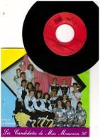 Cafougnette  Vinyle 45 T  MOUSCRON Moescron  Belgique Les Candidates De Miss Mouscron  1990 - Comiques, Cabaret
