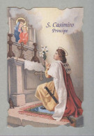 SAN CASIMIRO PRINCIPE....SANTINO....HOLY CARD - Religione & Esoterismo