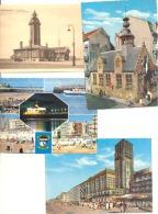 Lot Van 17 Postkaarten Van BLANKENBERGE - Blankenberge