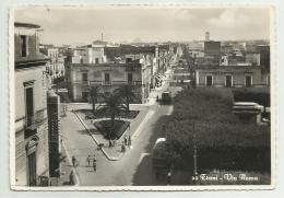 TRANI - VIA ROMA  VIAGGIATA FG - Barletta