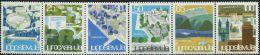 YG0015 Yugoslavia 1963 Landscape Architecture 6v MNH - 1945-1992 Socialist Federal Republic Of Yugoslavia