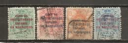 Marruecos Español - Edifil 59-62 - Yvert 67/68, 70, 71 (usado) (o) - Marruecos Español