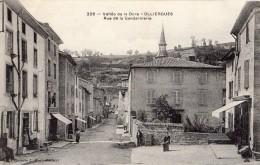 OLLIERGUES RUE DE LA GENDARMERIE - Olliergues