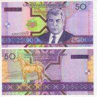 Turkmenistan 50 Manat 2005 UNC - Turkménistan