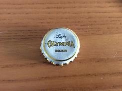 """Ancienne Capsule De Bière """"Light OLYMPIA BEER"""" ETATS-UNIS (USA)  Intérieur Liège - Cerveza"""