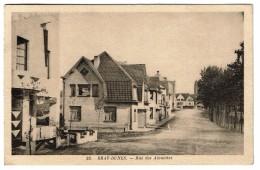 Bray-Dunes, Rue Des Alouettes, Circulée En 1939, Edit. Mercier - 2 Scans - Bray-Dunes