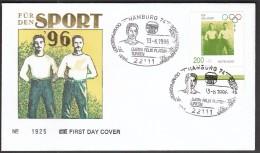 Germany Hamburg 1996 / Gustav Felix Flatow / Gymnastics / Olympic Medalist 1896