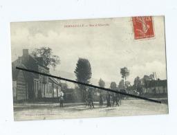 CPA -  Bernaville  - Rue D' Alberville - France