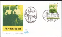 Germany Merseburg 1996 / Alfred Flatow / Gymnastics / Olympic Medalist 1896