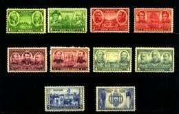 UNITED STATES/USA - 1936-37  U.S.  MILITARY ACADEMY  SET  MINT NH - Stati Uniti
