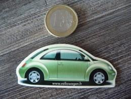 MAGNET COCCINELLE - Volkswagen - NEW BEETLE ! - Magnets