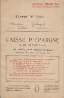 Livret De Caisse D´Epargne & De Prévoyance/ MEULAN/Seine & Oise/Gilbert Ghuzel/1947   BA37 - Banque & Assurance