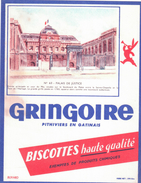 B Gr/ Buvard Biscottes Gringoire - Zwieback