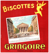 B Gri/ Buvard Biscottes Gringoire - Biscottes