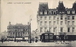 LIEGE -  La Place St Lambert - Liege
