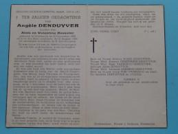 DP Angèle DENDUYVER ( Dochter Van DESOUTER ) Diksmuide 22 Dec 1885 - 23 Augusti 1952 ( Zie Foto´s ) ! - Religione & Esoterismo