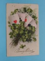 Bonne Année ( Nr. 8904 ) Anno 1931 ( Zie Foto´s Voor Details ) !! - Cartes à Jouer