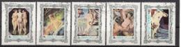 Oman 1970 Quadri Dipinti Da Maestri Del Nudo Ingres Boucher Raffaello Botticelli Regnault Preobliterato - Oman
