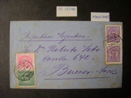 PORTUGAL - SENT LETTER LISBON TO BUENOS AIRES (ARGENTINA), AS - Lettres & Documents