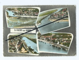 CPM  Abîmée -   Saint Valery Sur Somme  -  Multivues - Saint Valery Sur Somme
