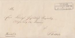 Preussen Brief R3 Berlin Stadtpost-Exp:XI 21.6. - Preussen