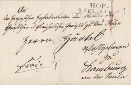 Bayern Brief L2 Hof 6.2.1841 - Bayern