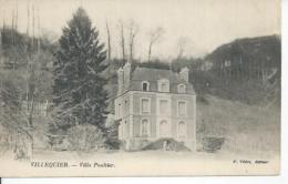 VILLEQUIER - VILLA POULTIER - Villequier