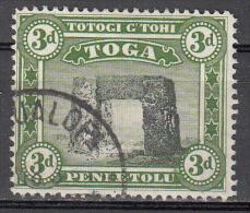 Tonga    Scott No.  77   Used    Year  1942  Wmk 4 - Tonga (1970-...)