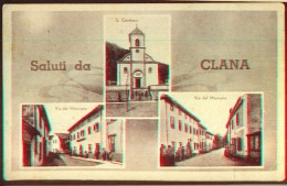 CROATIA  - HRVATSKA  - ISTRIA - CLANA - KLANA - Edit Carlo Bossi Clana  - 1943 - Croazia