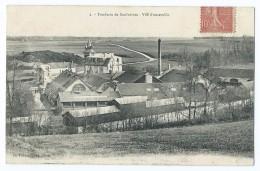 1373 - Saulnières - 2 Fonderie Vue D'ensemble Circulée Pour Dreux Boucherie Delahaye Convoyeur Chartres à Dreux - France