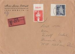 Berlin Wertbrief Mif Minr.496, 507 Berlin - Berlin (West)