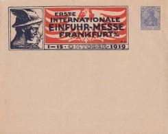 DR Privat-GS-Umschlag Minr.PU 27 Einfuhr-Messe Frankfurt Postfrisch - Deutschland