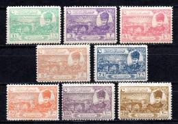 1924 TURKEY COMMEMORATIVE STAMPS FOR LAUSANNE TREATY OF PEACE MNH ** - 1921-... République