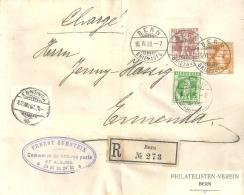"""R PrU-9  """"Philatelisten Verein Bern""""  (Zumstein)           1908 - Entiers Postaux"""